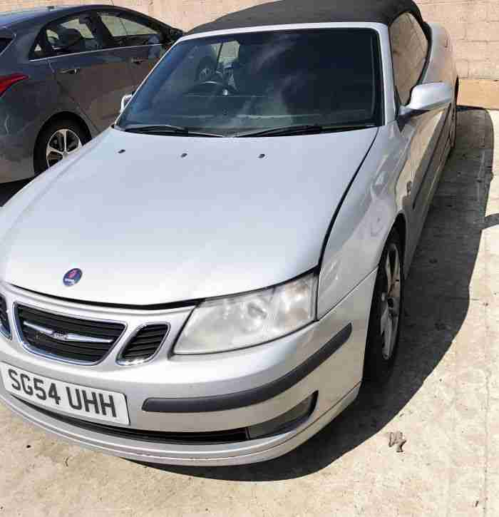 SAAB 9-3 CONVERTIBLE T VECTOR 150BHP REPAIRABLE SALVAGE CAT S