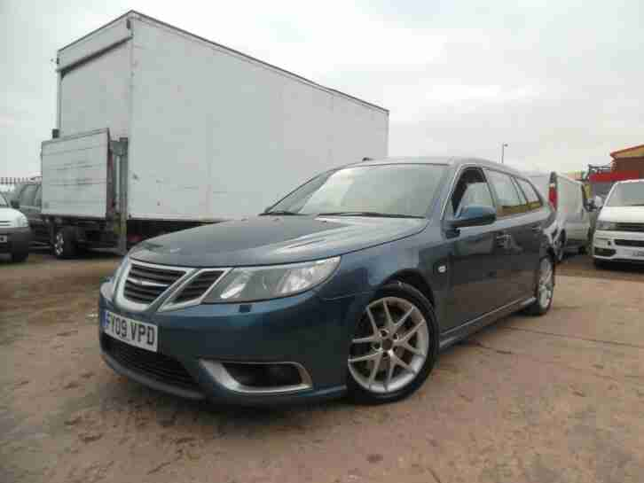 SAAB 9-3 SPORTWAGON AERO ESTATE 1.9TTiD 180 BHP FULL HISTORY LONG MOT