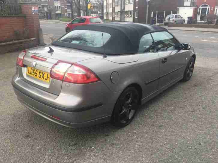 SAAB 9-3 VECTOR CONVERTIBLE 150BHP 2.0 05/55 REG-FEB 18 MOT 133000 MS WITH HIST
