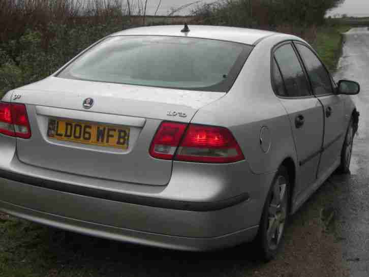 SAAB 9-3 VECTOR SPORT TID SILVER part ex to clear 2006 new mot diesel