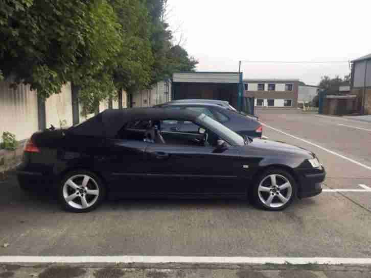 SAAB 9-3 Vector Convertible - great spec model, in excellent condition