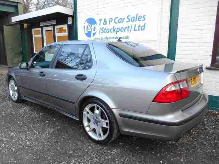 SAAB 9 5 2.3 HOT AERO 4 DR SALOON - MOT FEB 2017 - FULL HISTORY