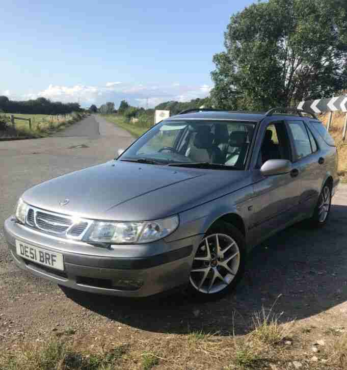 SAAB 9 5 AUTO ESTATE 2001 2.0T