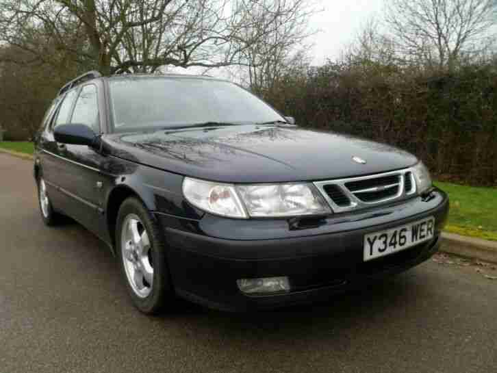 Saab 5. Saab car from United Kingdom