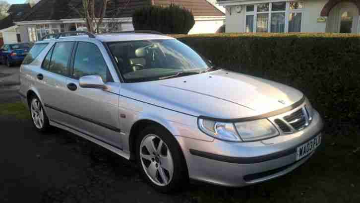 SAAB 9-5 vectra 2.2 tid TURBO ESTATE MANUAL Full leather interior 2003