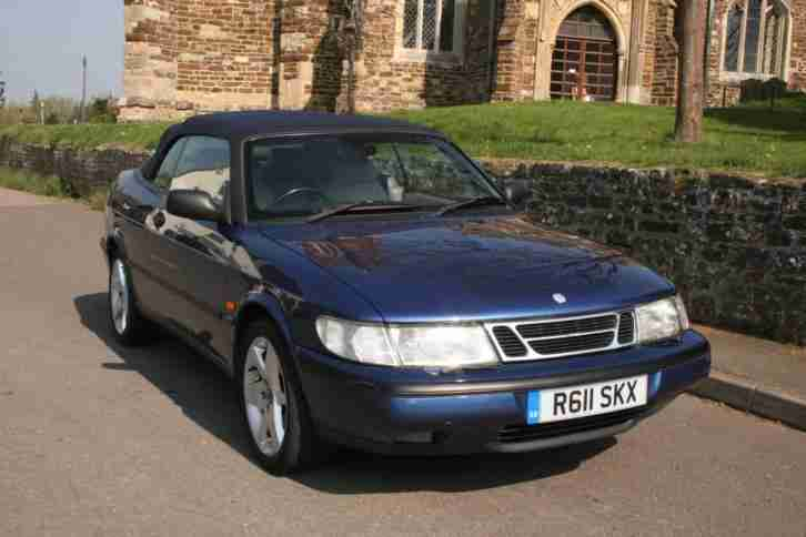 Saab 2.3i. Saab car from United Kingdom