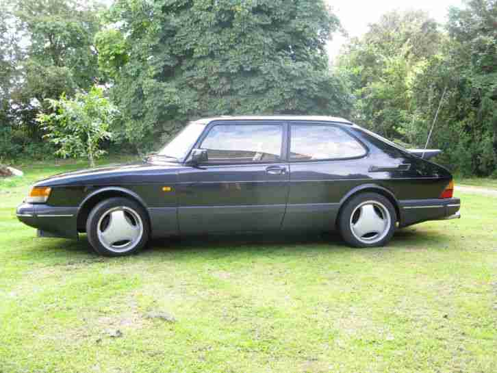 saab 900 classic turbo t16s black 1993 car for sale. Black Bedroom Furniture Sets. Home Design Ideas