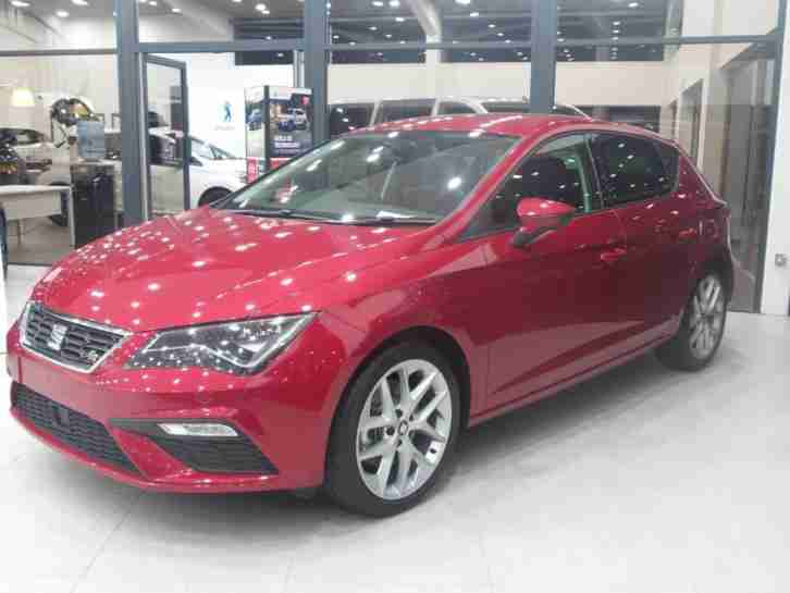 SEAT 2.0 TDI FR TECHNOLOGY 184PS DESIRE RED