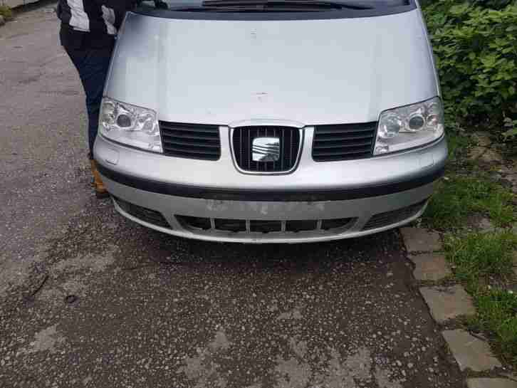 SEAT ALHAMBRA 2.0 TDI 2008 58 PLATE SPARES OR REPAIR GOOD SPEC MODEL