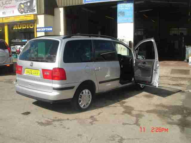 SEAT ALHAMBRA REFERENCE DIESEL 7 SEATER LIKE VW SHARAN OR FORD GALAXY 140 HP