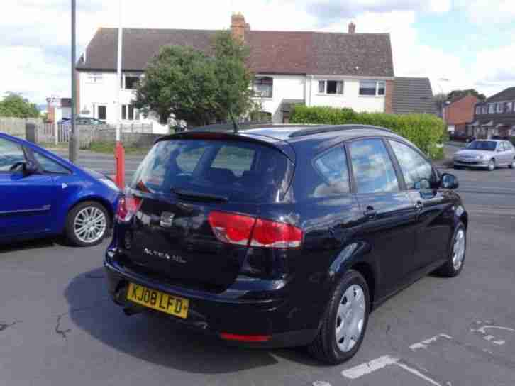 SEAT ALTEA XL REFERENCE 2008 Petrol Manual in Black