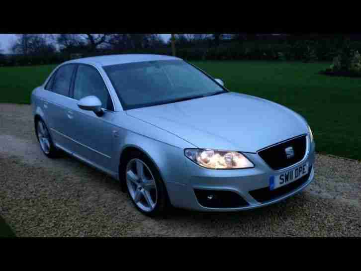 seat exeo sport tech cr 2 0 tdi diesel manual 2011 11 car for sale. Black Bedroom Furniture Sets. Home Design Ideas