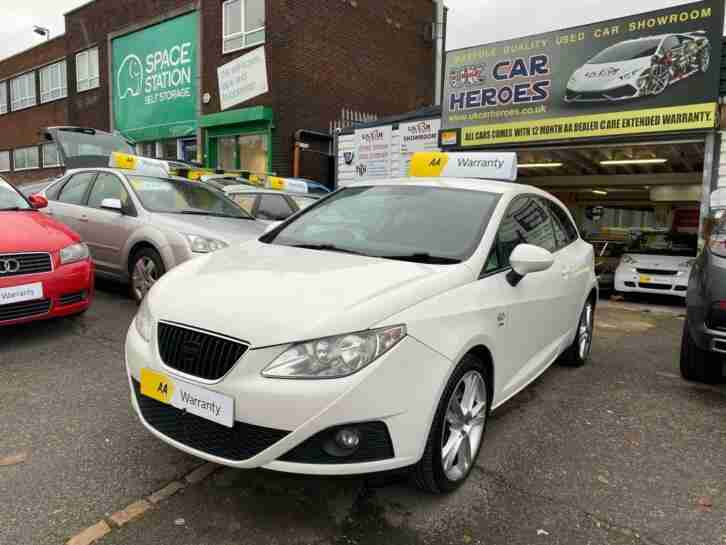 SEAT IBIZA 1.6 TDI CR SPORT COUPE 3 DOOR £30 TAX ( AA ) WARRANTY PACK INCLUDED