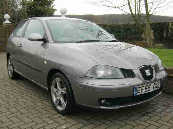 seat ibiza 1 9 tdi fr 3dr 2005 55 car for sale. Black Bedroom Furniture Sets. Home Design Ideas