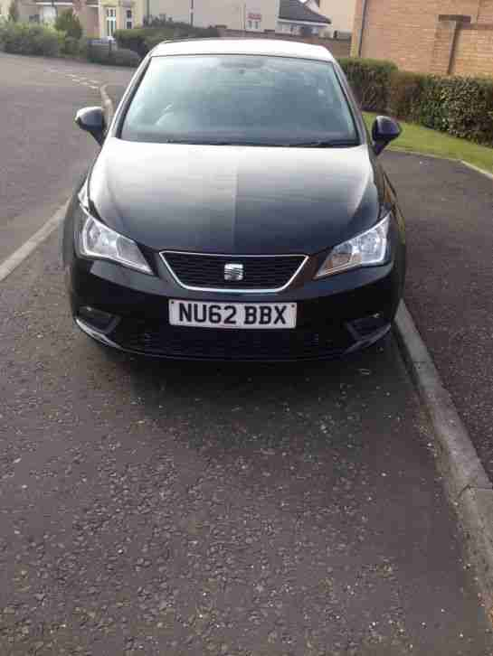 Seat IBIZA 2012. Seat car from United Kingdom
