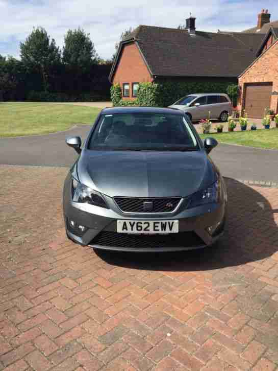 seat ibiza fr tsi 1 2 grey 62 2012 leather car for sale. Black Bedroom Furniture Sets. Home Design Ideas