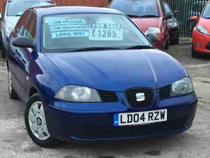 Seat Ibiza 1.2I. Seat car from United Kingdom