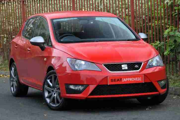seat ibiza 2014 special edition 1 4 tsi act fr edition 5dr hatchback. Black Bedroom Furniture Sets. Home Design Ideas