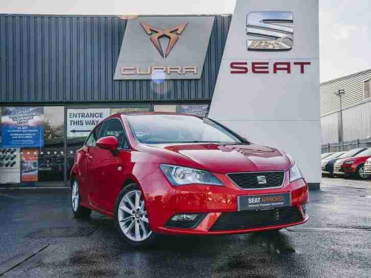 SEAT Ibiza 2015 1.4 Toca 3dr Coupe
