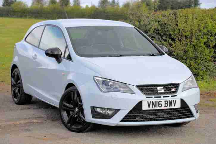 seat ibiza 2016 sport 1 8 tsi cupra black 3dr coupe car for sale. Black Bedroom Furniture Sets. Home Design Ideas