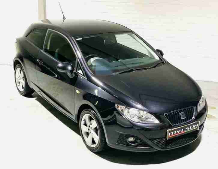 SEAT Ibiza Sport 1.4 3 Door SportCoupe Black Petrol 2010 Hatch Manual SC