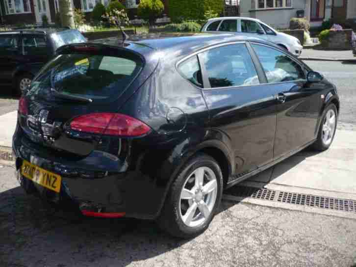 SEAT LEON 1.4 TSI REFERENCE SPORT 2008 Petrol Manual in Black