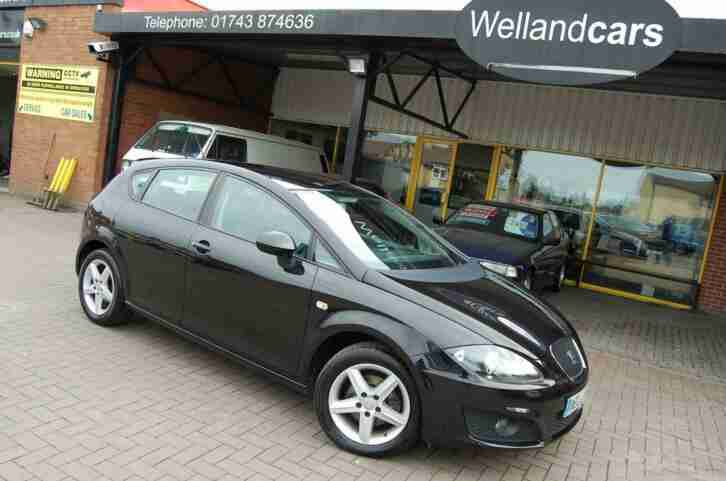 SEAT LEON 1.6 S EMOCION 5 DOOR 5 SPEED MANUAL LOW MILEAGE ONLY 61000 MILES