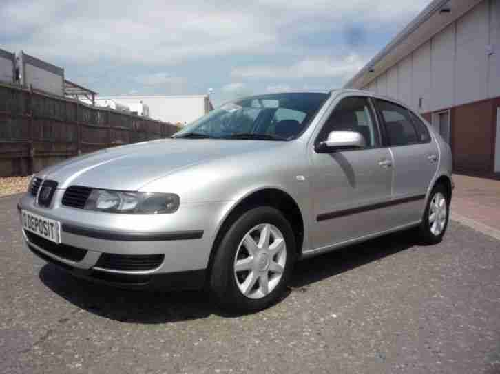 seat leon 1 6 s new mot 2002 petrol manual in grey car for sale rh bay2car com Manuals in PDF User Guide