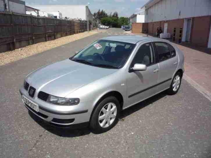 SEAT LEON 1.6 S ( NEW MOT ) 2002 Petrol Manual in Grey