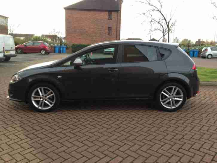 SEAT LEON FR CR TDI 170!! GREY! 60 PLATE!! 27000 MILES!! FULL SERVICE HISTORY!!