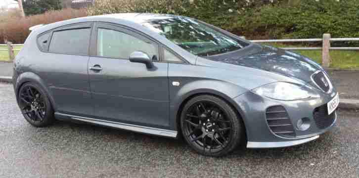 seat leon stylance 1 9 tdi btcc kit grey car for sale. Black Bedroom Furniture Sets. Home Design Ideas