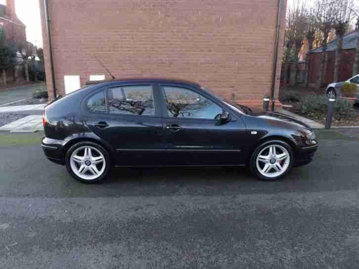 seat leon sx black 2004 12 months mot car for sale. Black Bedroom Furniture Sets. Home Design Ideas