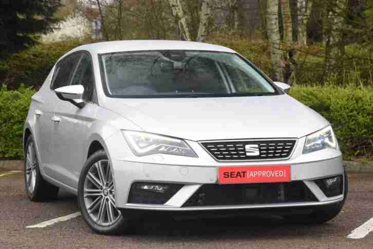 Seat Leon 2017. Seat car from United Kingdom