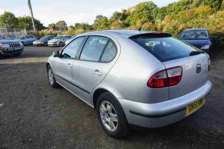 SEAT Leon 5DR With CD, Aux & USB + Alloys DIESEL MANUAL 2002/51