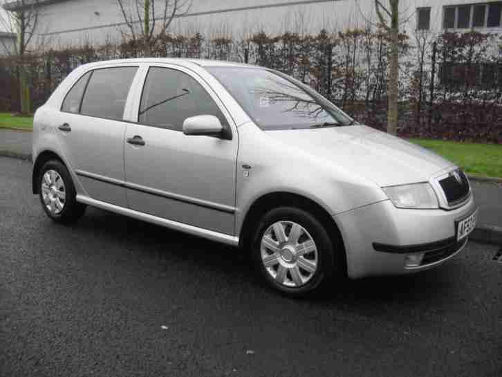Skoda Fabia 1 2 Comfort 2003 5dr Full Service History 12 Months