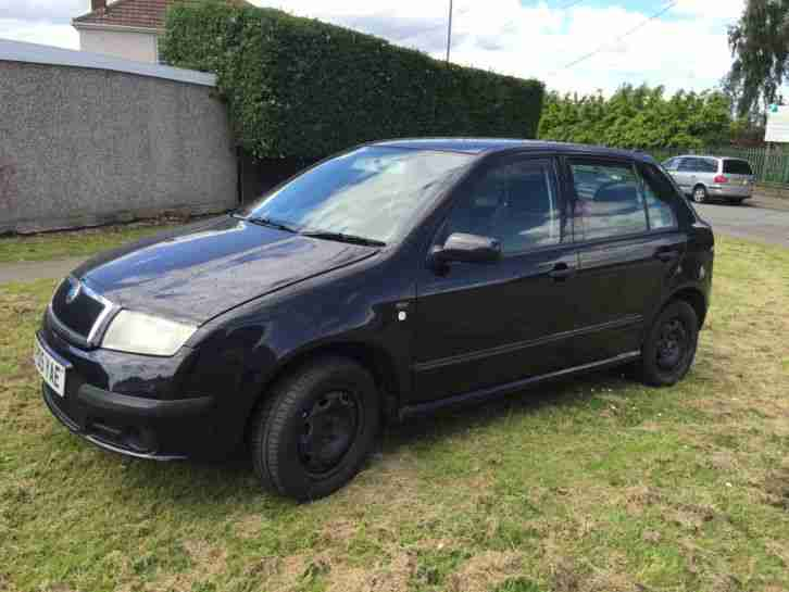 SKODA FABIA 1.2 HTP AMBIENTE BLACK FSH JUST SERVICED