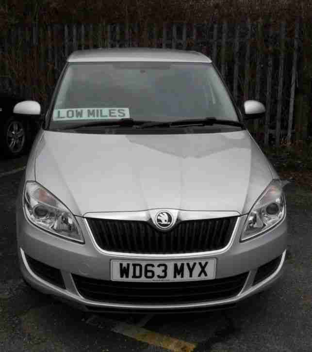 SKODA FABIA 1.2SE HATCH,2013(dec) one owner,16114miles,alloys,aircon,abs,tc,exc.