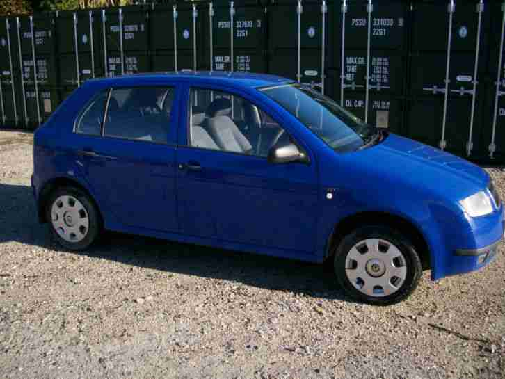 skoda fabia 1 9 sdi diesel w reg car for sale. Black Bedroom Furniture Sets. Home Design Ideas
