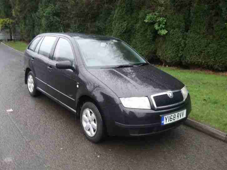 skoda fabia classic 1 9 sdi diesel estate car for sale. Black Bedroom Furniture Sets. Home Design Ideas
