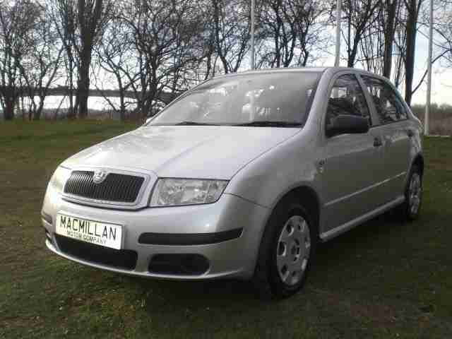 skoda fabia classic htp 2005 petrol manual in silver car for sale. Black Bedroom Furniture Sets. Home Design Ideas