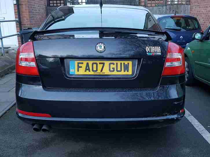 SKODA OCTAVIA VRS, PETROL TFSI 200 BHP.- VERY GOOD CONDITION