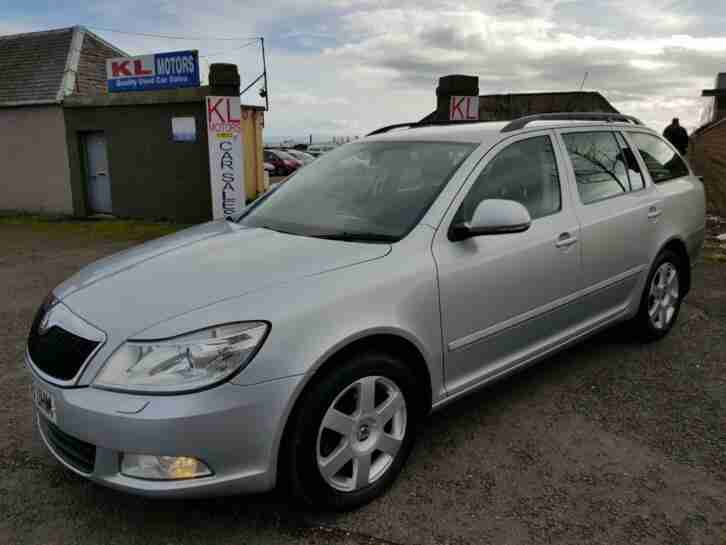Skoda Octavia 1.6. Skoda car from United Kingdom