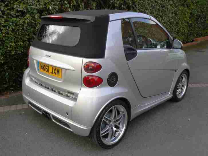 SMART BRABUS X-CLUSIVE 102PS CABRIO *OPT POWER STEERING, SURROUND SOUND & MORE*