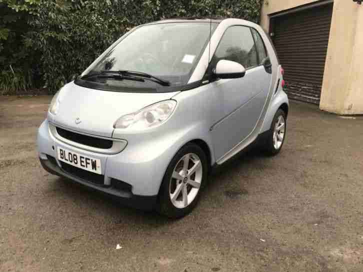 SMART CAR FORTWO PASSION 71 AUTO SILVER IDEAL TOW CAR MOTOR HOME CAMPER