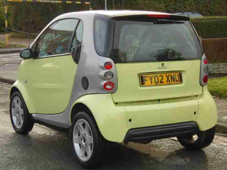 SMART CAR SMART 0.6 SEMI-AUTOMATIC 2002 PULSE,ONLY 58 K,LONG MOT,EXCELLENT DRIVE