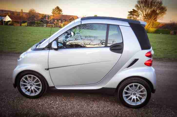 SMART CITY-CABRIOLET PASSION, Silver, Auto, Petrol, 2008