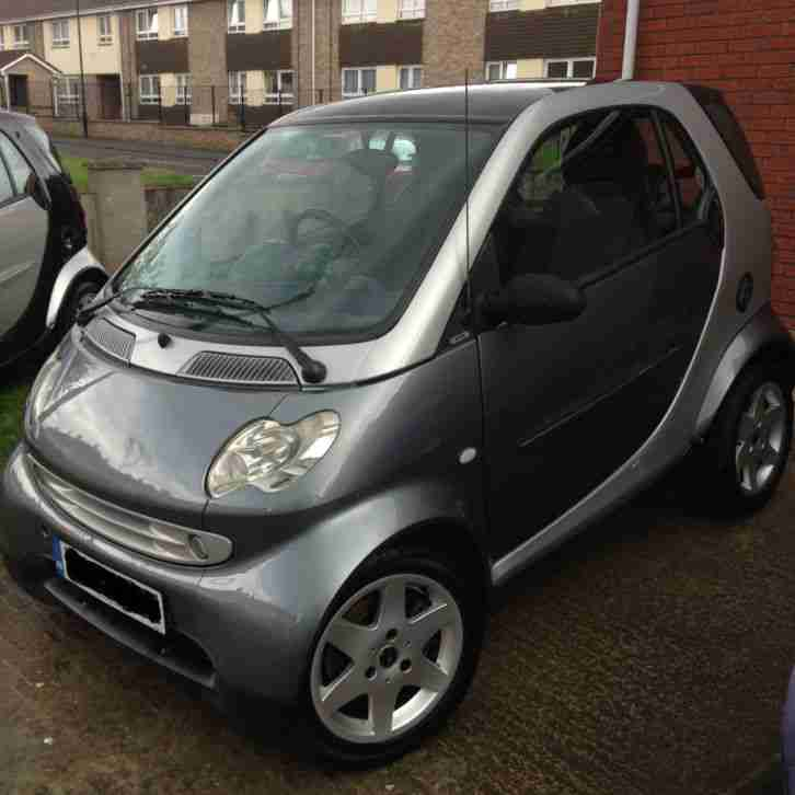 Smart CITY PULSE 52reg SILVER Rebuilt engine(58300) £30 a year tax