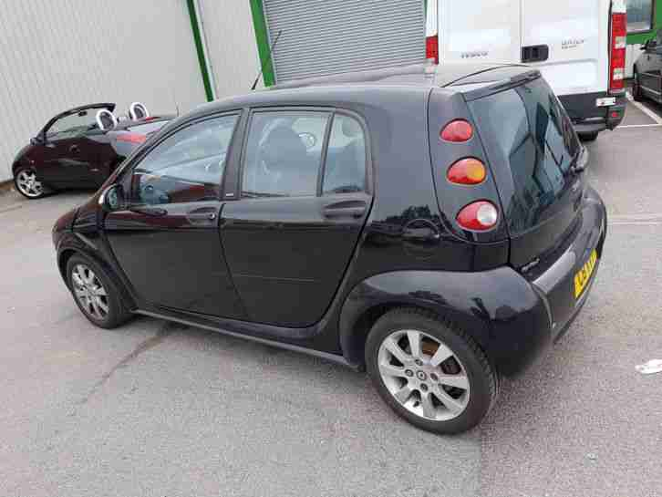 SMART FORFOUR 2004 1.3 SPECIAL EDITION 81K SPARES OR REPAIR GOOD CONDITION.