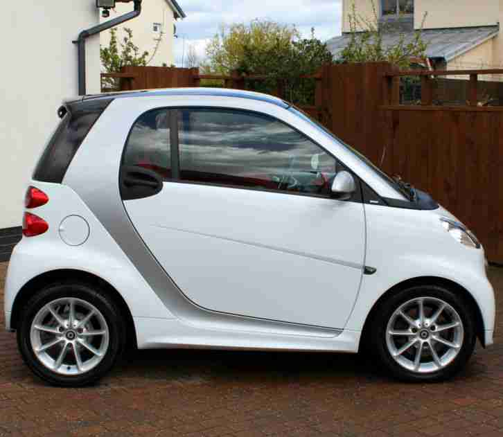 Smart FORTWO 1.0 MHT PASSION AUTOMATIC, CRYSTAL WHITE