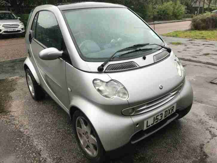 FORTWO 1.0 Passion Coupe 2dr Petrol